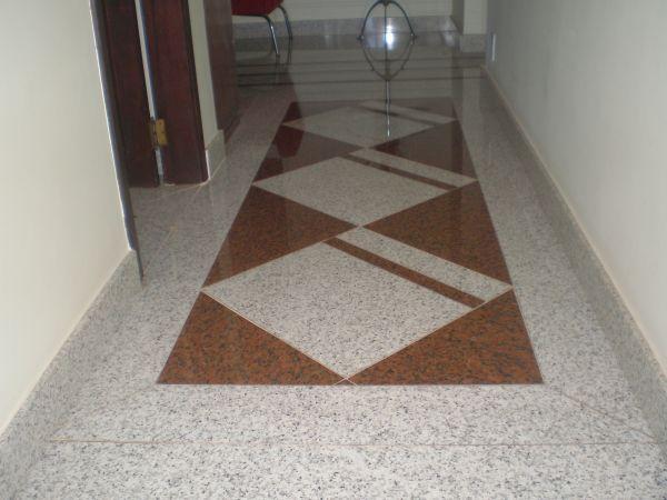 Piso branco cear e vermelho bras lia 190 00m2 casa do for Modelos de granitos para pisos